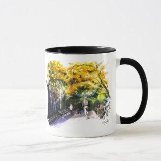 Ein Weg durch die Park-Tasse Tasse