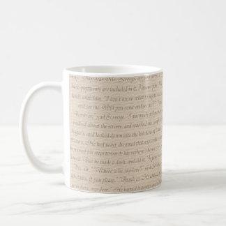 Ein Weihnachtscarol-Zitat Kaffeetasse