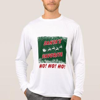 Ein Weihnachtslanges Hülsen-T-Shirt, einfach mit T-Shirt