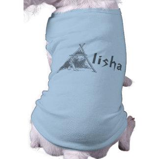 Ein ~Wild Hund im Buchstaben ein EZ2 FERTIGEN T - T-Shirt