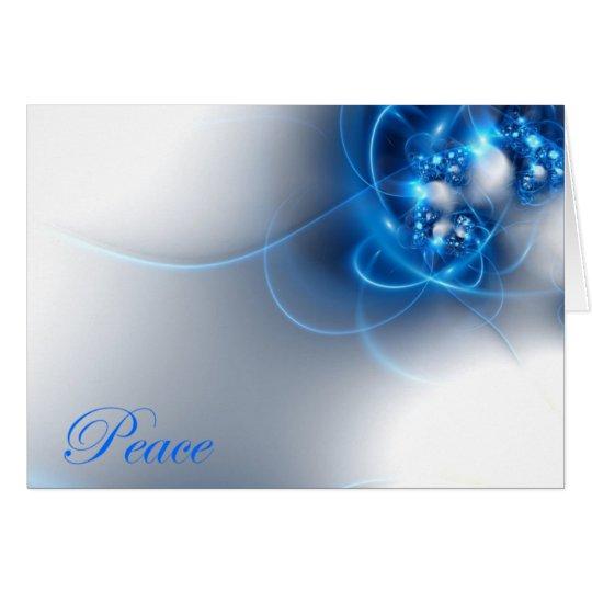 Ein Wunsch des Friedens Grußkarte