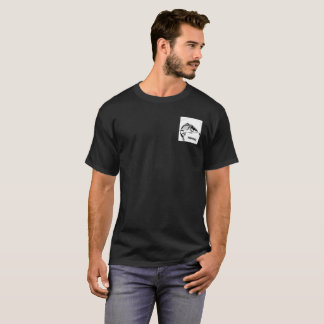 Ein Zielkarpfen-Fischent-shirt T-Shirt
