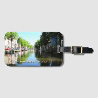 Einbauschlitz-Gepäckanhänger, der Amsterdam-Kanal Kofferanhänger