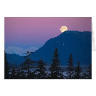 Einbruch der Nacht in Alaska Karte