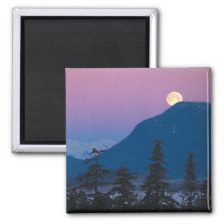 Einbruch der Nacht in Alaska Quadratischer Magnet