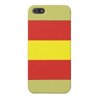 Eine (1) Signal-Flagge iPhone 5 Etuis