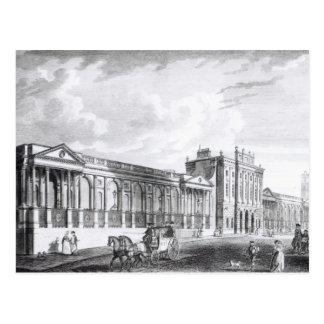 Eine Ansicht Bank of Englands Postkarte