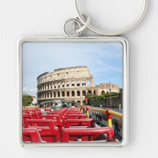 Eine Ansicht des Colosseum in Rom von einem Schlüsselanhänger