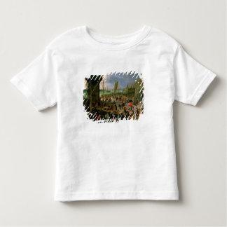 Eine Ansicht von Antwerpen-Hafen Kleinkinder T-shirt