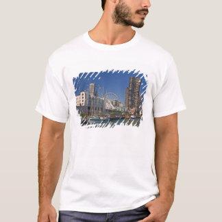 Eine Ansicht von Chicagos Marine-Pier 2 T-Shirt