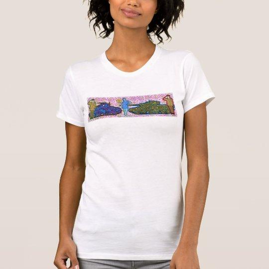 eine Dame zwischen zwei Majoren T - Shirt