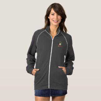 Eine die Fleece-Bahn-Jacke der Mädchen-Frauen Jacke