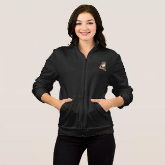 Eine die Fleece-Zipstoß-Jacke der Mädchen-Frauen