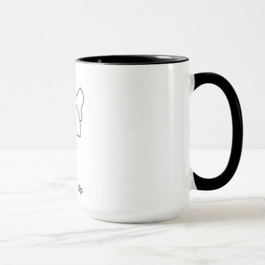 Eine Elefant-Unterseite Tasse