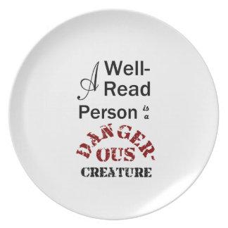 Eine Gut-Lesenperson ist ein gefährliches Geschöpf Essteller