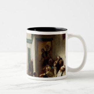 Eine jüdische Hochzeit in Marokko, 1841 Kaffeetassen
