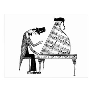 Eine Katze genannt Sonata Postkarte