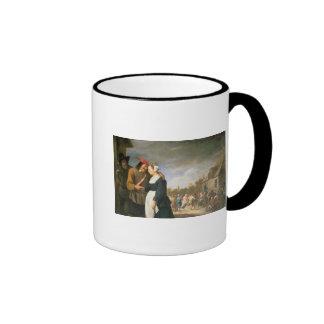Eine ländliche Hochzeit, 1648 Tassen