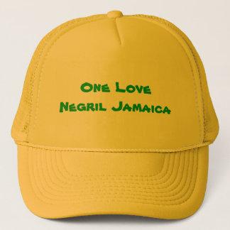 Eine Liebe Negril Jamaika Truckerkappe