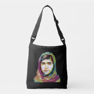 Eine Mädchen-dunkle Riemen-Tasche Tragetaschen Mit Langen Trägern