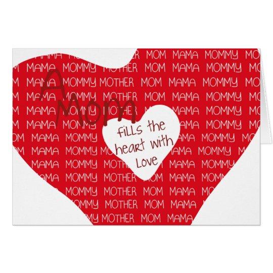 Eine Mamma… Karte