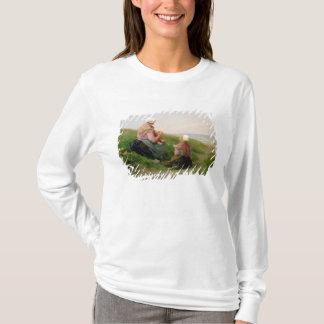 Eine Mutter und ihre kleinen Kinder T-Shirt