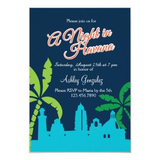 Eine Nacht in Havana Karte