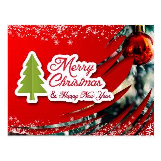 Eine nettes Weihnachts-und neues Jahr-Karte Postkarte