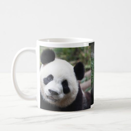 eine niedliche panda tasse tasse zazzle. Black Bedroom Furniture Sets. Home Design Ideas