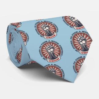 Eine perfektere Gewerkschaft Personalisierte Krawatten
