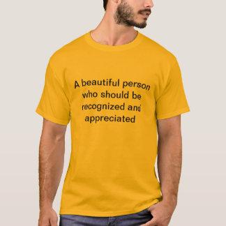 eine Person T-Shirt