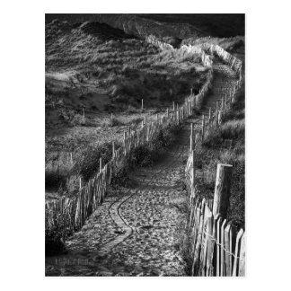 Eine Reise gemacht, Bantham, Devon-Postkarte Postkarte