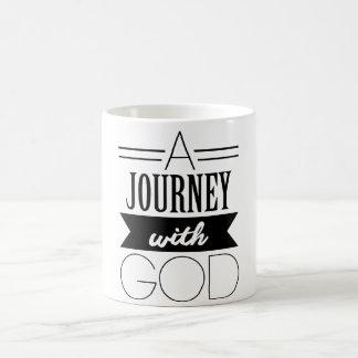 Eine Reise mit der Gott-Tasse Tasse