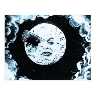 Eine Reise zum Mond Postkarte