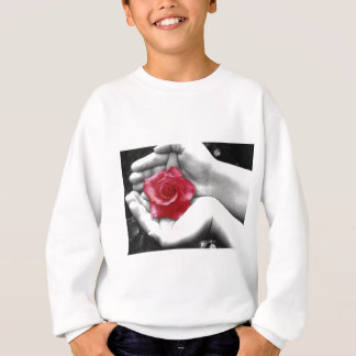 Eine Rose in der Hand 2 Sweatshirt