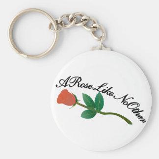 Eine Rose mögen nicht andere Schlüsselanhänger