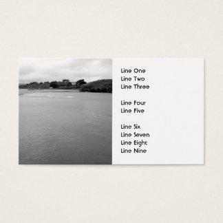 Eine ruhige Bucht in Irland. Nahes Rosscarbery. Visitenkarte