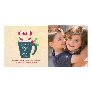 Eine Schale der Friedens-, Liebe-und Karte