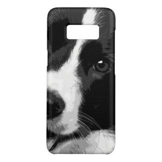 Eine Schwarzweiss-Border-Collie Case-Mate Samsung Galaxy S8 Hülle