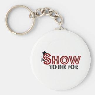 Eine Show zu die für Logoschlüsselring Schlüsselanhänger