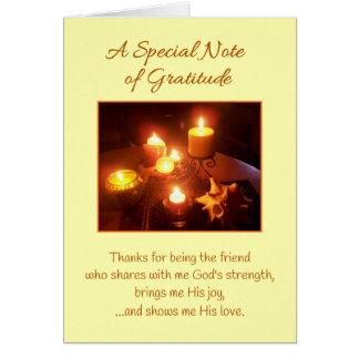 Eine spezielle Anmerkung der Dankbarkeits-… Grußkarte