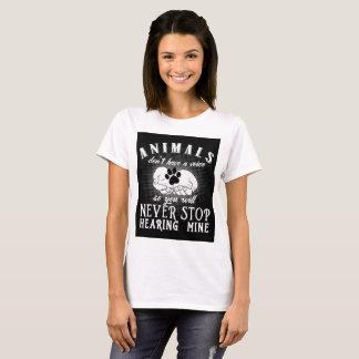 Eine Stimme für Tier-T - Shirt