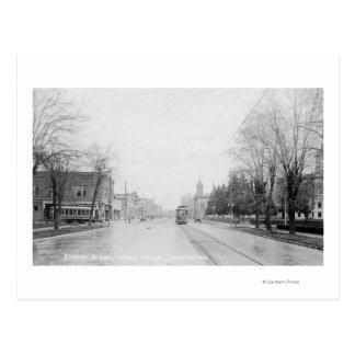 Eine Straßen-Szene 11 Postkarte