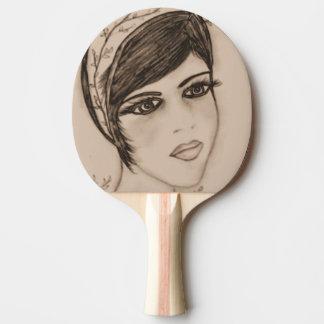 Eine süße Prallplatte im Sepia Tischtennis Schläger
