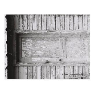 Eine Tür nahe Mullins, Sc Postkarte