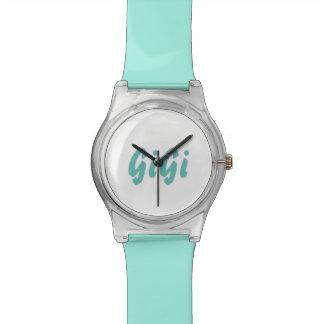 Eine Uhr für Gigi