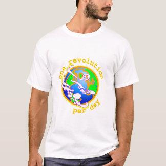 Eine Umdrehung pro Tag T-Shirt