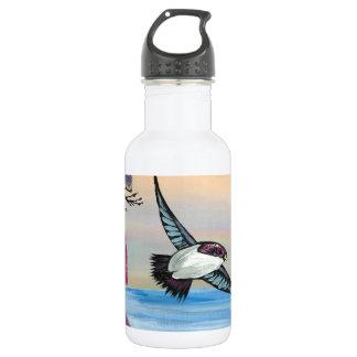 Eine Vogel-Ansicht Trinkflasche