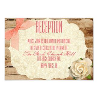 Eine wahre Liebe-Geschichten-Empfangs-Einladung 8,9 X 12,7 Cm Einladungskarte