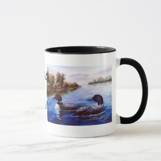 Eine was für Paareloon-Tasse Tasse